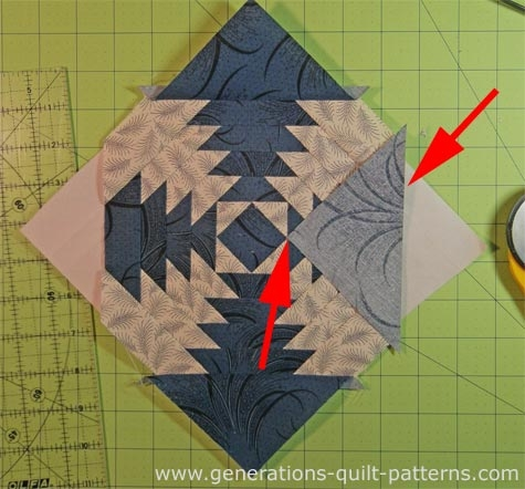 free pineapple quilt patterns illustrated step step Interesting Pineapple Quilt Patterns