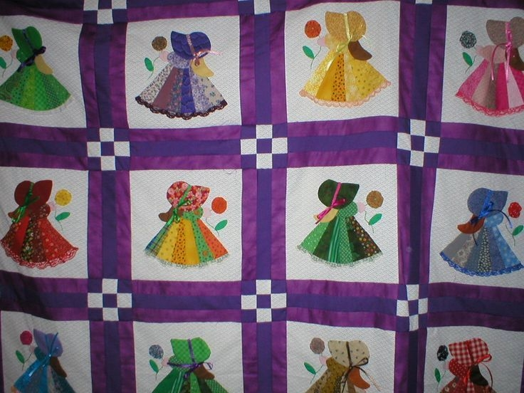 free sunbonnet sue quilt pattern quilting with a friend Stylish Sunbonnet Quilt Patterns Free Inspirations