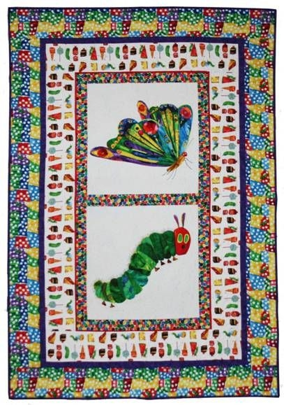 free the very hungry caterpillar quilt pattern free Unique Hungry Caterpillar Quilt Pattern