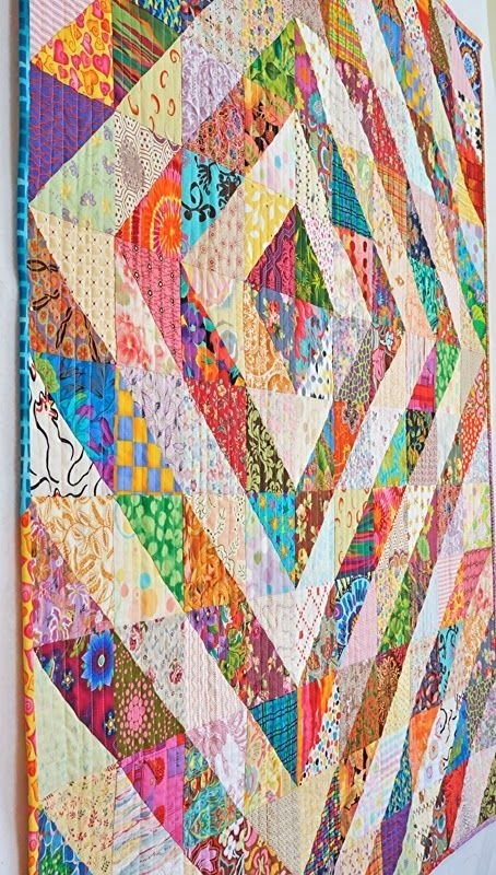 fresh easy half square triangle quilt patterns ideas quilt Cozy Easy Triangle Quilt