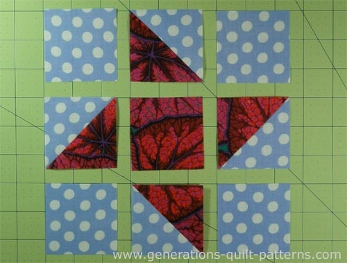 friendship star quilt block instructions in 5 sizes 4 Inch Quilt Block Patterns Inspirations