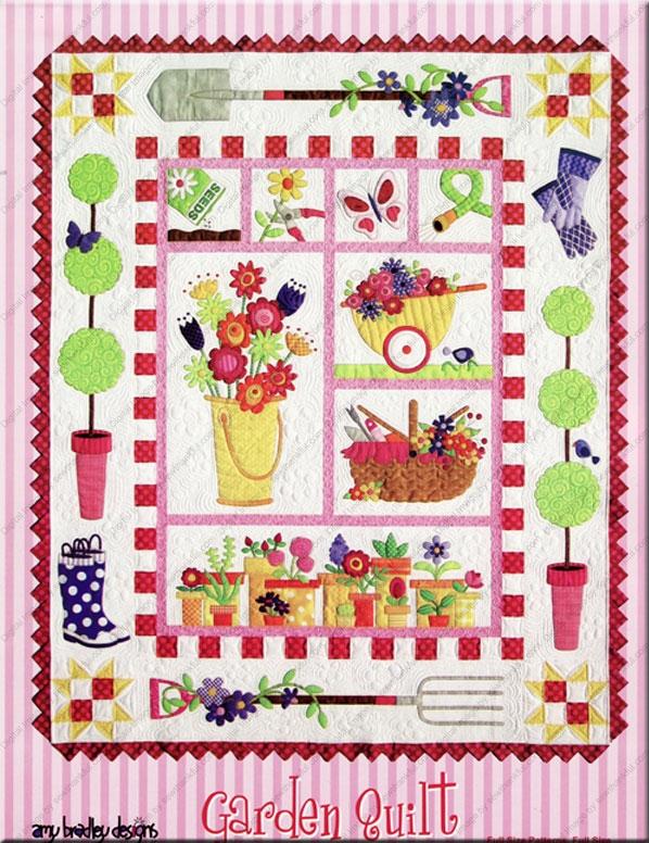 garden quilt sewing pattern amy bradley designs Cozy Amy Bradley Quilt Patterns Gallery