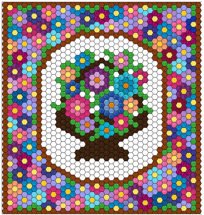 gmfg Cozy Hexagon Quilts Layout