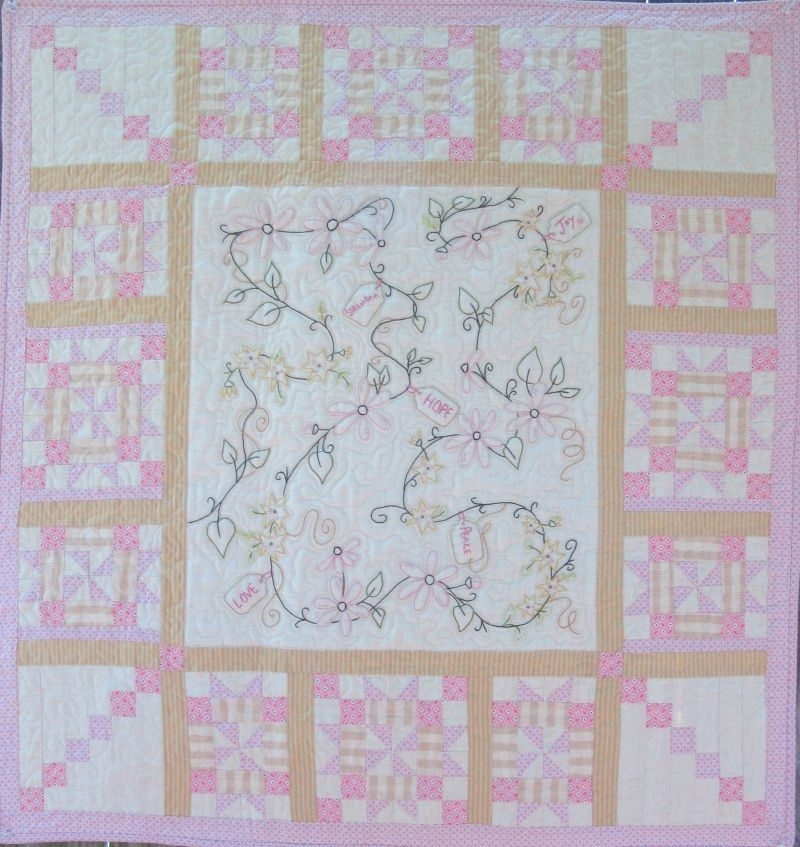 hand embroidery quilt patterns to make beautiful gifts and Elegant Embroidered Quilts Patterns Inspirations