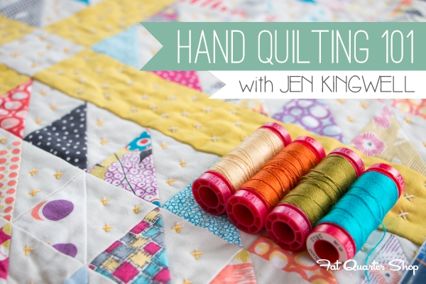 hand quilting 101 with jen kingwell the jolly jabber Elegant Quilting By Hand Patterns Gallery