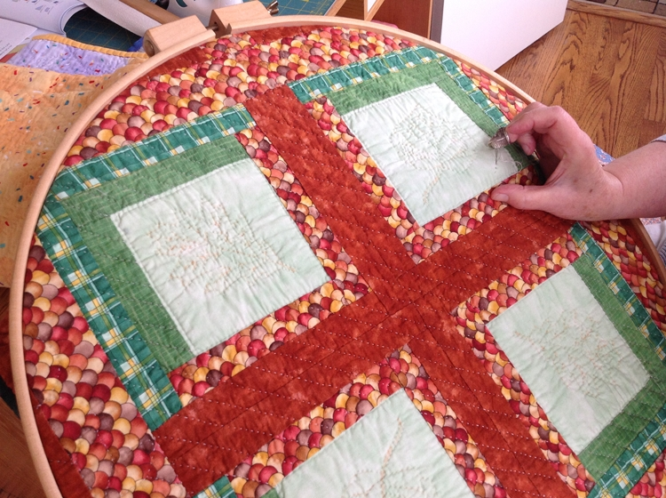 hand quilting 3 of 3 quilted angel Elegant Hand Quilting Stitch Patterns Inspirations