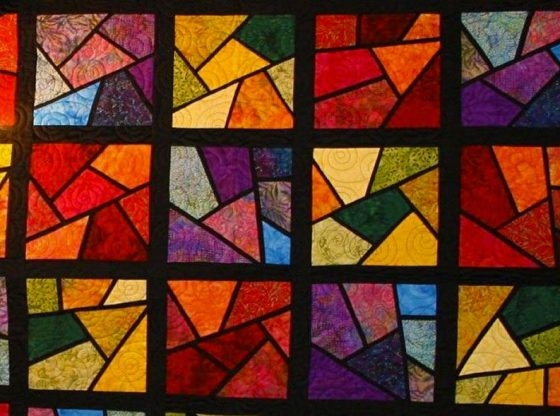 happy homestead quilting quilt patterns youll love Cool Stained Glass Quilt Pattern Inspirations