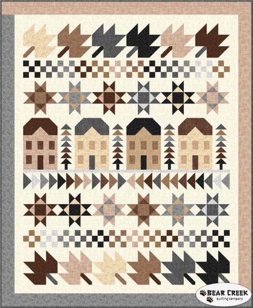 harmony row houses free quilt pattern quilting treasures Modern Quilting Treasures Patterns