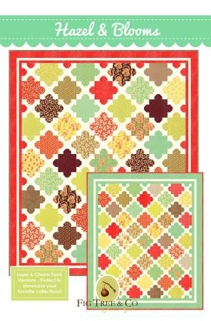 hazel and bloom quilt pattern from fig tree quilts Cozy Fig Tree Quilts Patterns