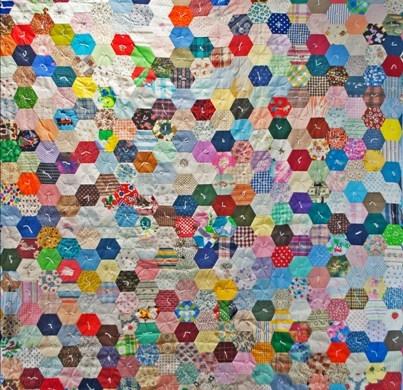 hexagon quilt pattern free quilt patterns Stylish Hexagon Quilt Pattern
