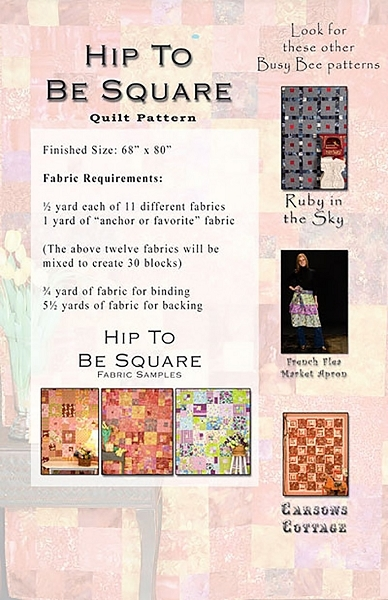 hip to be square quilt pattern busy bee quilt designs Interesting Hip To Be Square Quilt Pattern