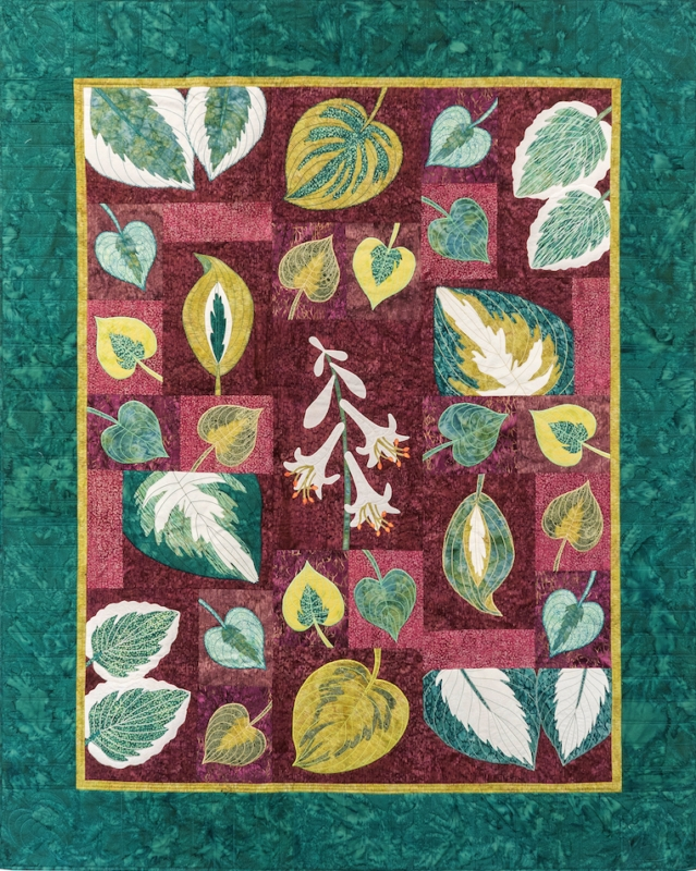 hosta block of the month bom quilt pattern Cool Block Of The Month Quilt Patterns
