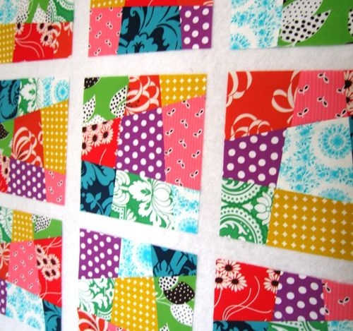 how to make a crazy nine patch quilt block quilting Cozy Crazy Nine Patch Quilt Pattern