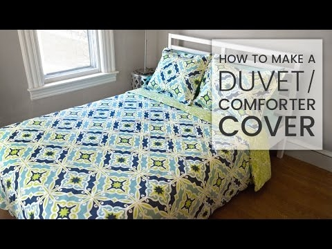 how to make a duvet cover Elegant Quilted Duvet Cover Pattern Gallery