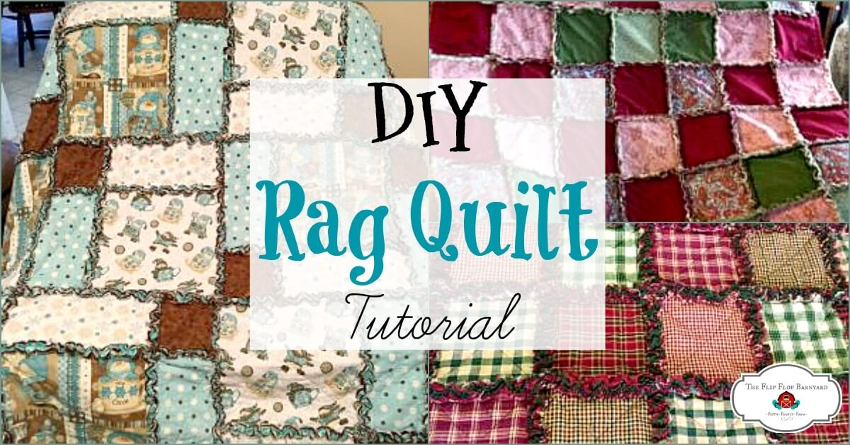 how to make a rag quilt a simple diy sewing project the Cool Flannel Rag Quilt Patterns Gallery
