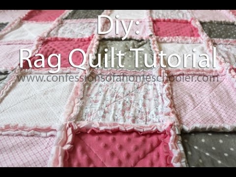 how to make a rag quilt tutorial Stylish Easy Rag Quilt Patterns For Beginners Inspirations