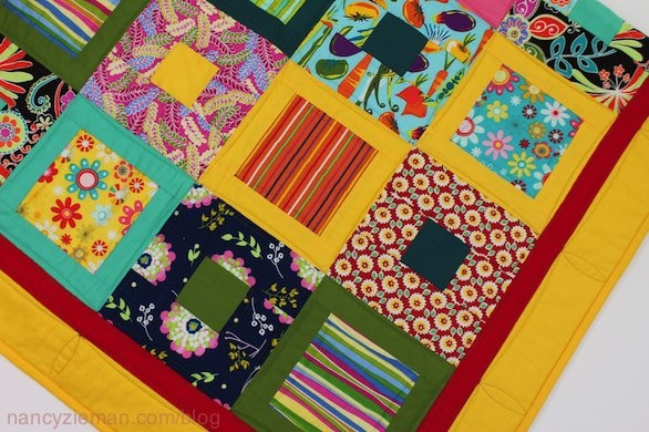 how to make an easy square within a square quilt block Stylish Square In Square Quilt Pattern