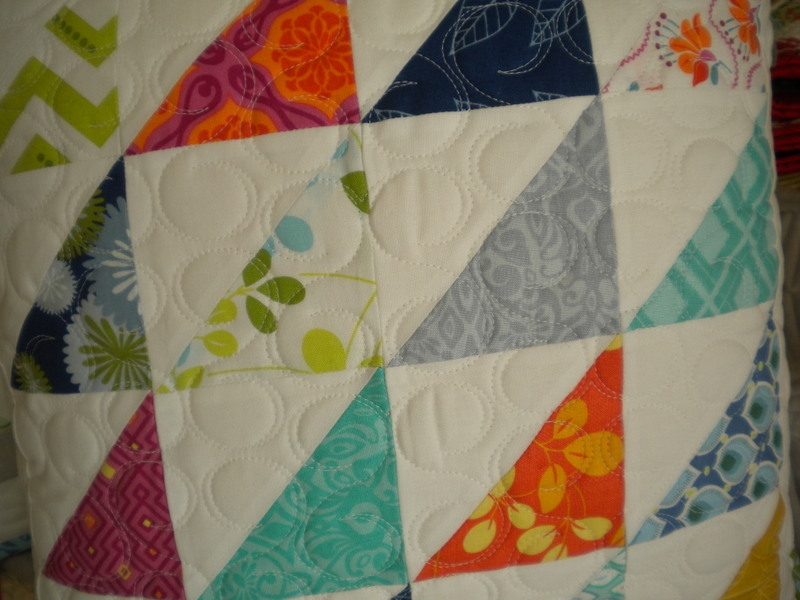 how to make half square and quarter square triangle quilt blocks Modern Quilting With Triangles