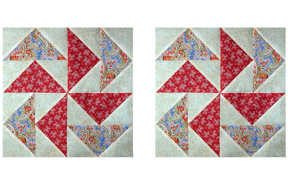 how to make no waste flying geese for quilts Flying Geese Quilt Pattern