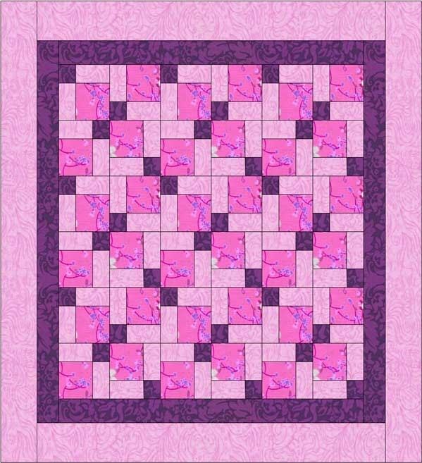 how to read a quilt pattern beginners workshop 4 Cool Quilt Patterns Using 3 Fabrics Gallery