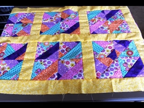 how to sew quilt squares borders jelly roll quilt Cool Sewing A Quilt Border