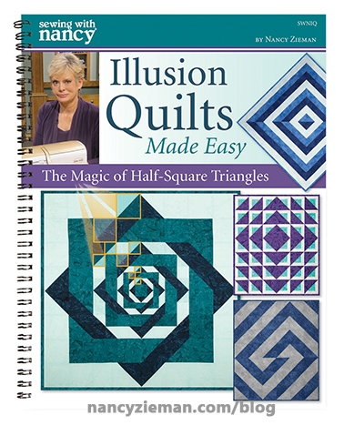 illusion quilts made easy nancy zieman sewing with Cozy Quilt Knot Pattern Gallery