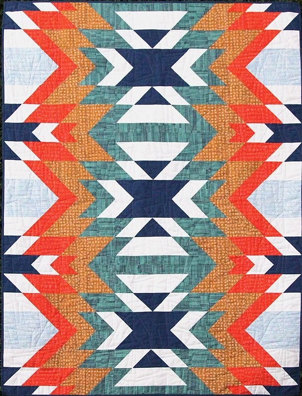 image of quilt pattern pdf go west quilting indian Elegant Indian Quilt Patterns