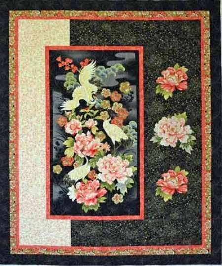 image result for ba quilt pattern with center panel Center Panel Quilt Patterns Inspirations