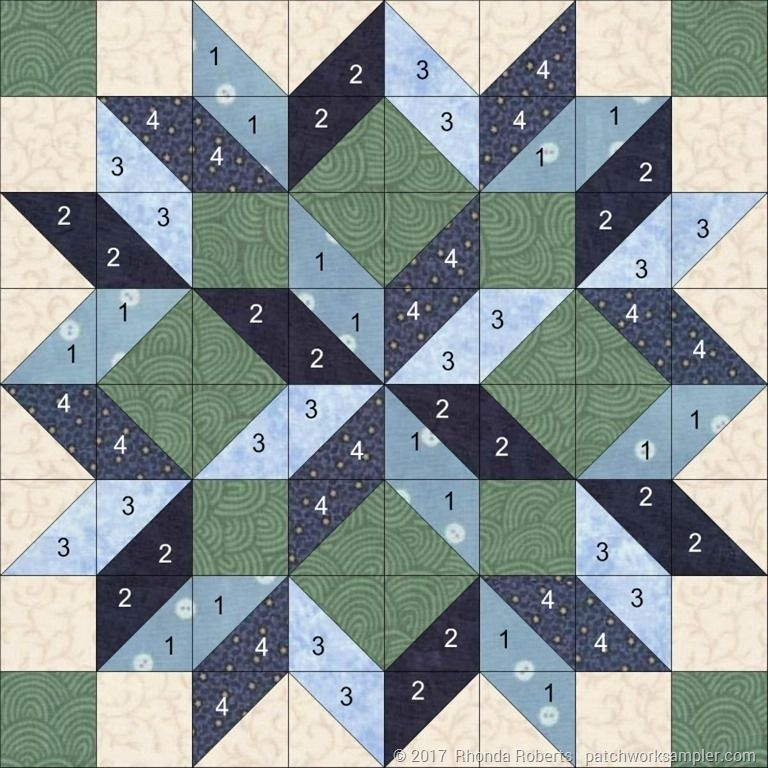 image result for carpenters star quilt pattern king size Modern Quilt Block Patterns By Size Gallery