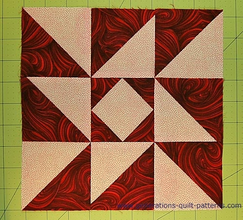 indiana puzzle quilt block pattern 6 9 and 12 Patterns For Quilt Blocks Gallery