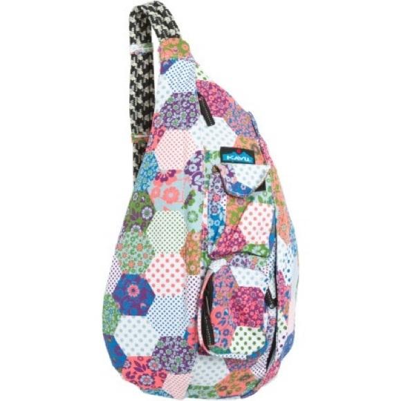 iso kavu rope bag vintage quilt Elegant Kavu Rope Bag Vintage Quilt Gallery