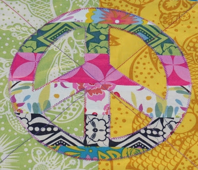 izzy inspired peace quilt Peace Sign Quilt Pattern Inspirations