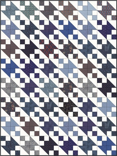 jacobs ladder quilt pattern from our quilt design 101 series Modern Jacobs Ladder Quilt Pattern