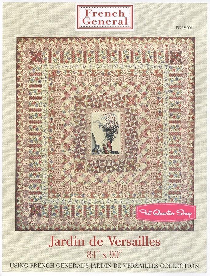jardin de versailles quilt pattern french general patterns Modern French General Fabric Quilt Patterns Inspirations