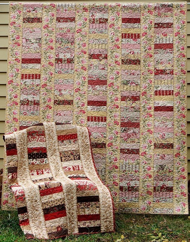 jelly roll quilt patterns for beginners jelly roll quilt Modern Jelly Roll Strip Quilt Patterns Gallery