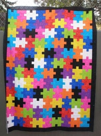 jigsaw puzzle quilt quilting puzzle quilt quilt Interesting Puzzle Piece Quilt Pattern