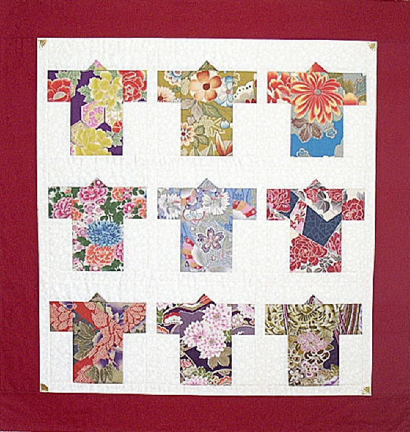 kimono quilt patterns patterns gallery Elegant Kimona Grace Quilt Pattern Inspirations