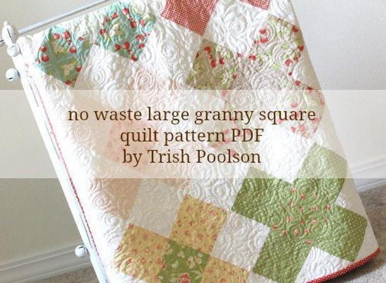 large granny square quilt pattern bluprint Elegant Granny Square Quilt Pattern