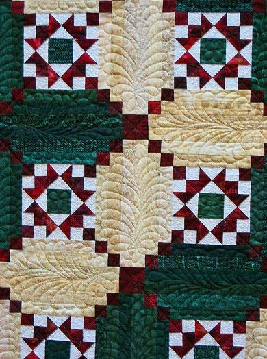 log cabin quilt designs Modern Pineapple Log Cabin Quilt Pattern Gallery