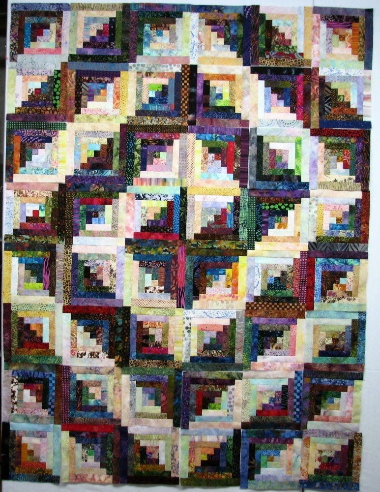 log cabin quilt layouts spiral nice quilts log Unique Log Cabin Patchwork Quilt Patterns Gallery