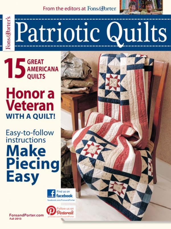 love of quilting patriotic quilts digital edition Cozy Fons And Porter Patriotic Quilts Gallery