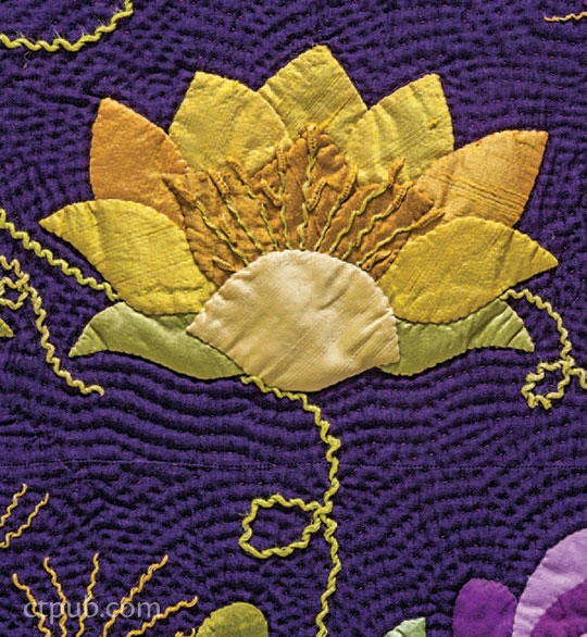 lovely water lily appliqu ct publishing Interesting Water Lily Quilt Pattern Inspirations