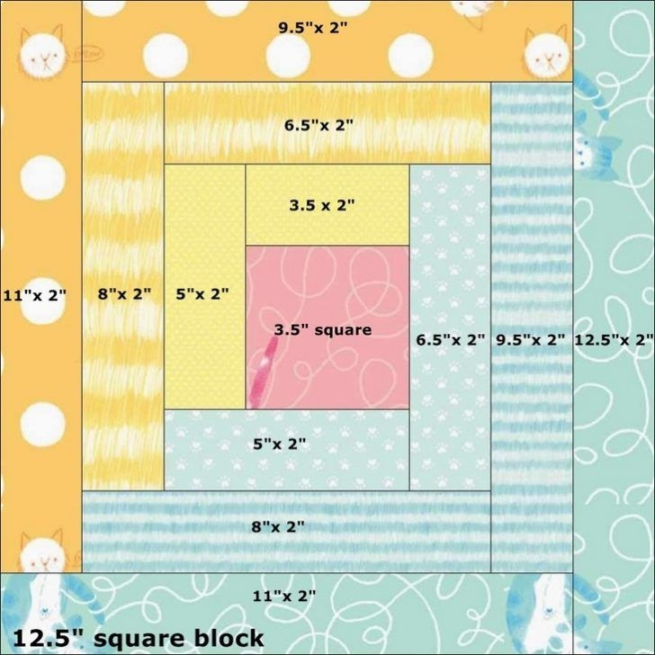 luxury log cabin quilt pattern 12 inch block 1 quilt Interesting Log Cabin Quilt Block Patterns Gallery