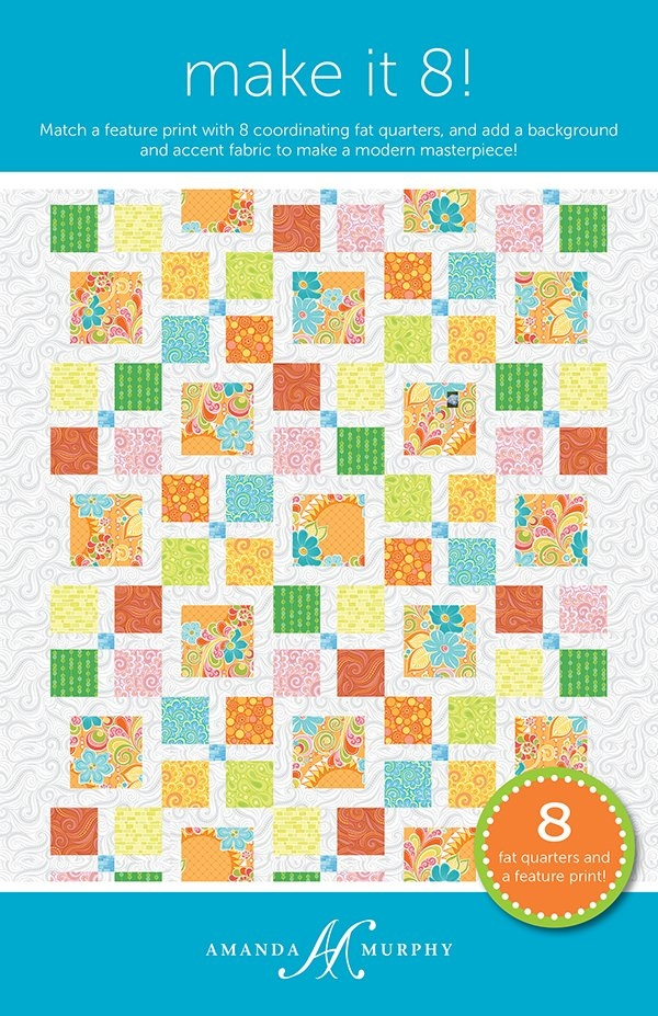 make it 8 quilt pattern amanda murphy amd 070 Cozy Amanda Murphy Quilt Patterns