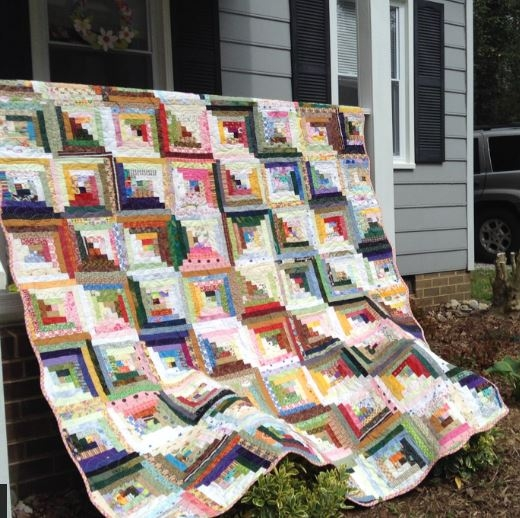make yourself at home 7 cozy log cabin quilt patterns Stylish Pattern For Log Cabin Quilt Gallery