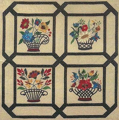 mary sorensen baltimore tribute baskets pattern ebay Cozy Baltimore Tribute Quilt Pattern By Mary Sorensen Inspirations