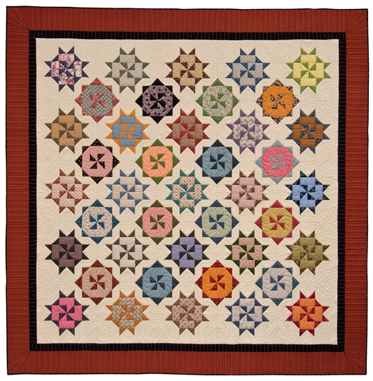 merry go round quilt stitch this the martingale blog Merry Go Round Quilt Pattern Inspirations