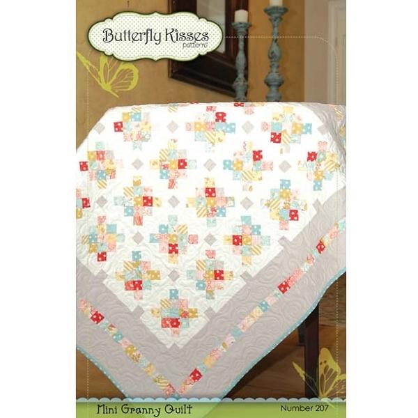 mini granny quilt pattern butterfly kisses pattern Interesting Butterfly Kisses Quilt Pattern