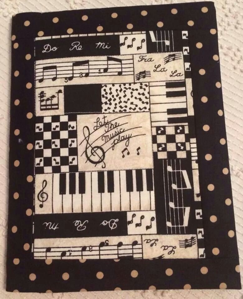 music theme quilting sewing ideas quilts quilt Modern Music Themed Quilts Gallery