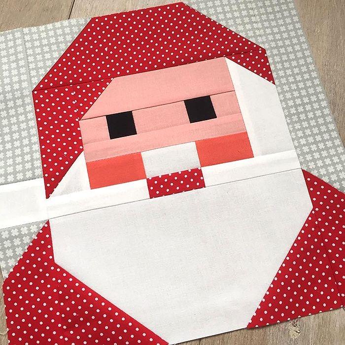 new christmas quilt patterns nadra ridgeway ellis Santa Claus Quilt Patterns